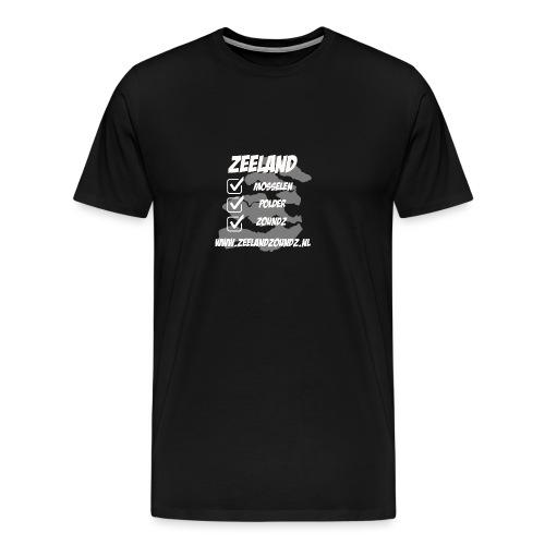 Mosselen - Polder - ZoundZ #girlZ edition - Mannen Premium T-shirt