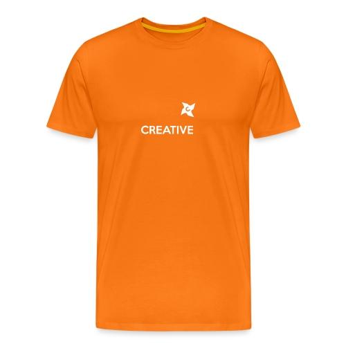 Creative long urban shirt - Herre premium T-shirt