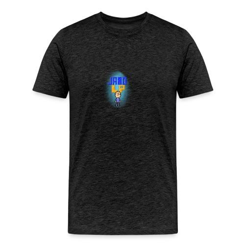 Pixel Jamo - Herre premium T-shirt