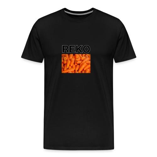 REKOpaita porkkanat - Miesten premium t-paita