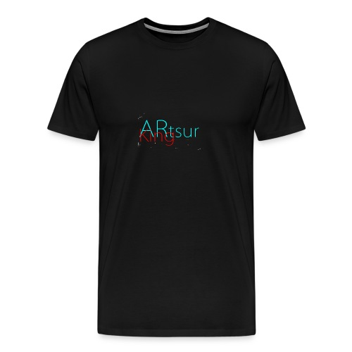 ARtsurKing Logo - Men's Premium T-Shirt