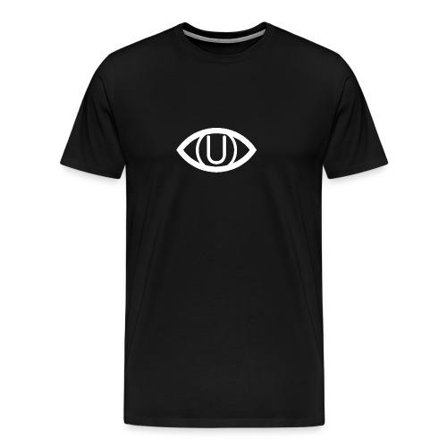 EYE SYMBOL WHITE - Men's Premium T-Shirt