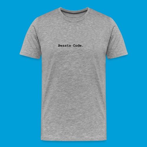 Beasts Code. - Men's Premium T-Shirt