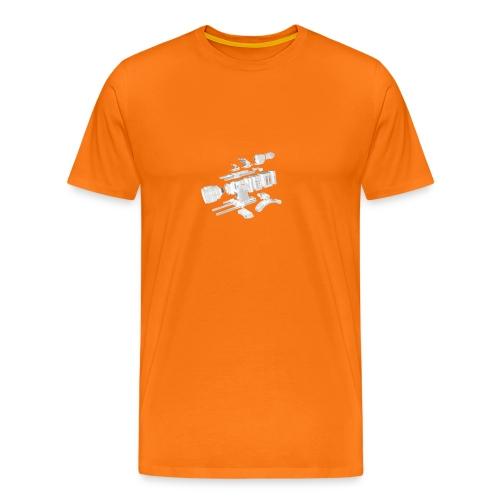 VivoDigitale t-shirt - RED - Maglietta Premium da uomo