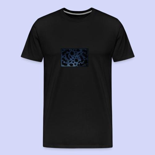 late night doodle - Female Shirt - Herre premium T-shirt