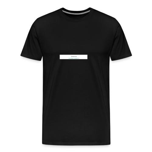 My web your work - Men's Premium T-Shirt