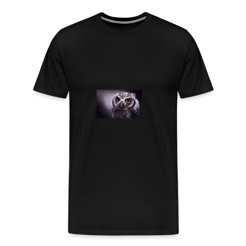 Pöllö - Miesten premium t-paita