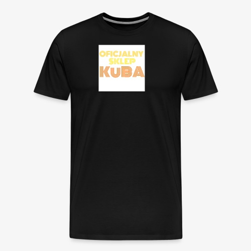 KuBA - JESTEM FANEM I NOSZĘ TO Z DUMĄ - Koszulka męska Premium