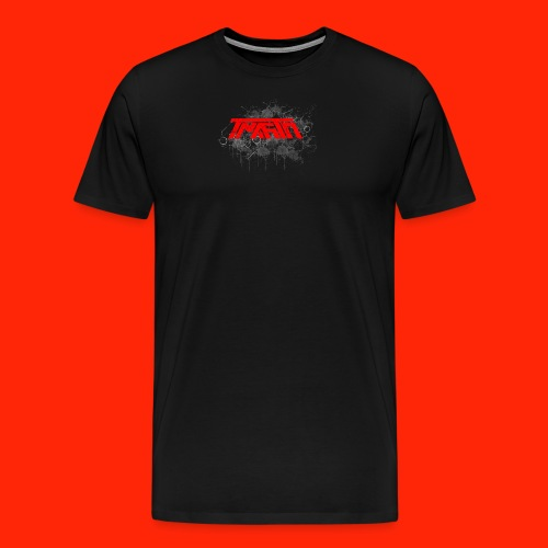 TmarTn Logo on different shirts and accesories - Herre premium T-shirt