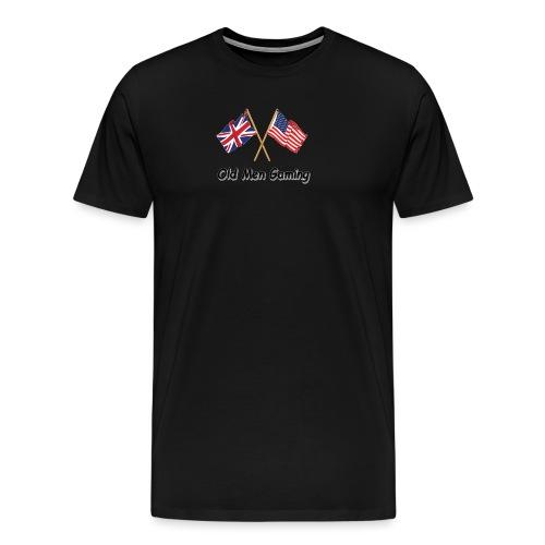 OMG logo - Men's Premium T-Shirt