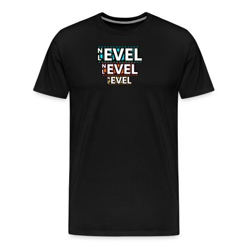 Nevel Level 3 colours - Men's Premium T-Shirt
