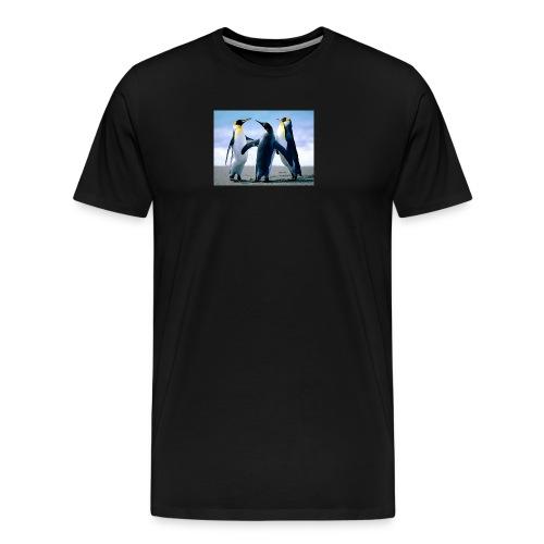 Penguins - Premium T-skjorte for menn