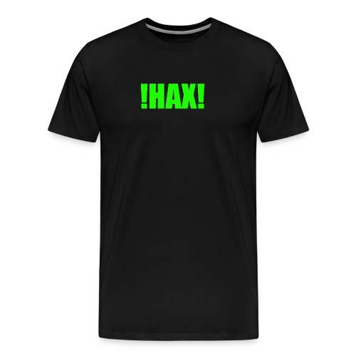 HAX-shirt by BOT SHELL - Männer Premium T-Shirt