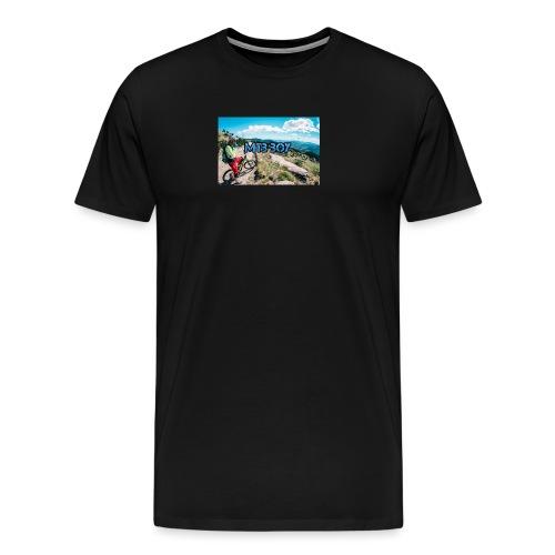 mtb hoddie - Men's Premium T-Shirt