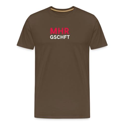 MHR GSCHFT - Männer Premium T-Shirt