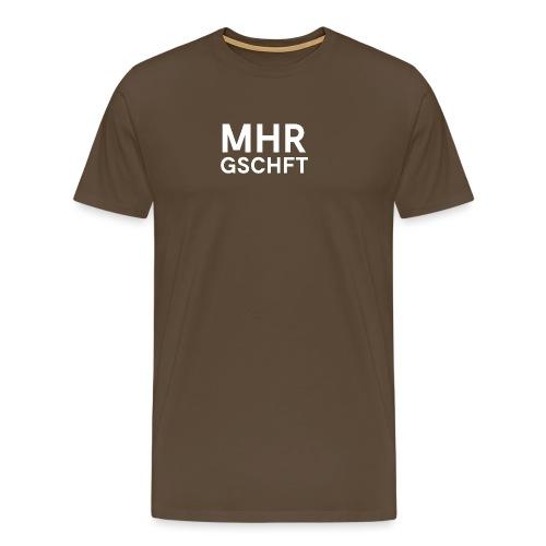 MHR GSCHFT (weiß) - Männer Premium T-Shirt