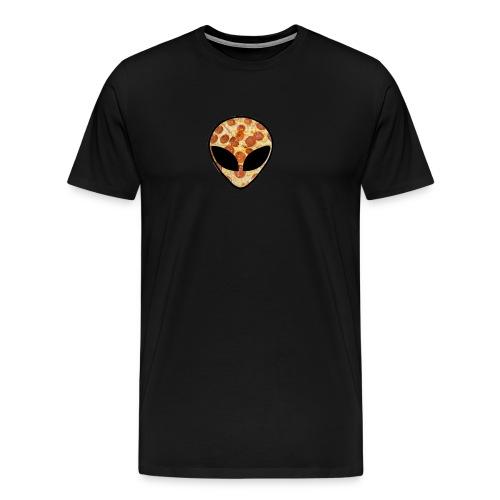 Pizza_alien - Maglietta Premium da uomo