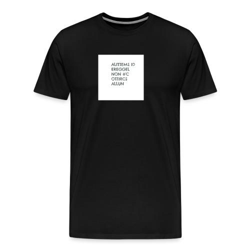 MA NON SAI LEGGERE????? - Maglietta Premium da uomo