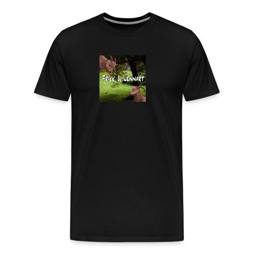 Frikk og Lennart - Premium T-skjorte for menn