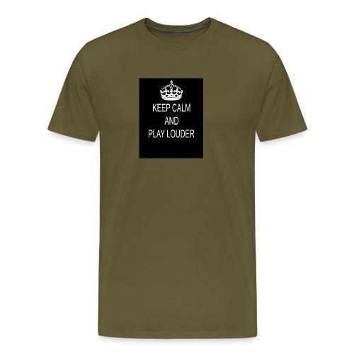 keep calm play loud - T-shirt Premium Homme