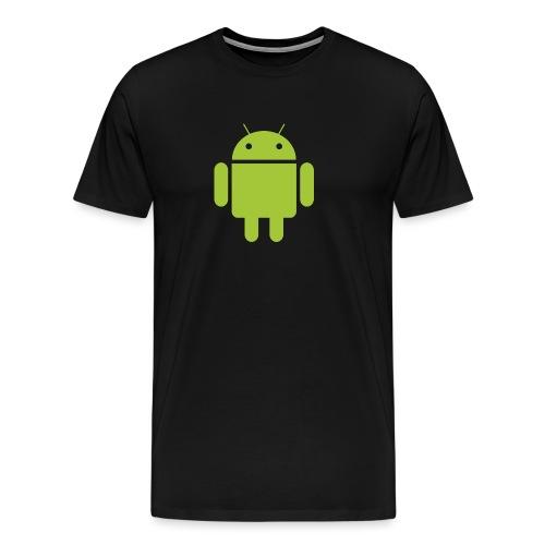 Android robot - Mannen Premium T-shirt