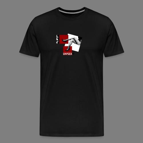 SEXY GIRL STOCKING SHOES 03 - Maglietta Premium da uomo