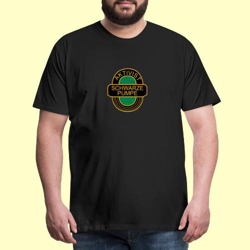 BSG Aktivist Schwarze Pumpe - Männer Premium T-Shirt