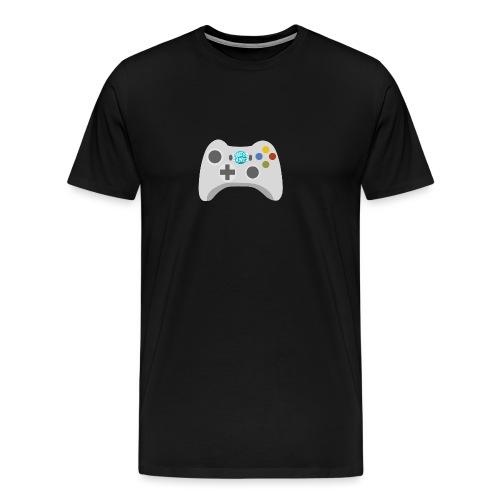 Pause Games Controller Logo - Men's Premium T-Shirt