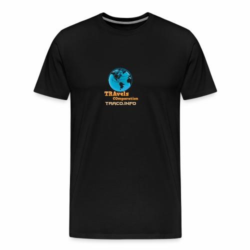 TRAvels COmparation - Maglietta Premium da uomo