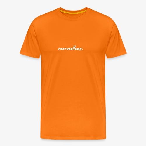 merveilleux. White - Men's Premium T-Shirt