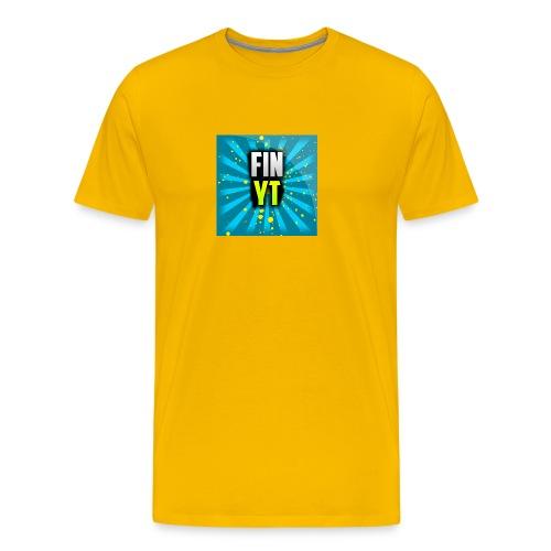 Uusi Youtube Logo - Miesten premium t-paita