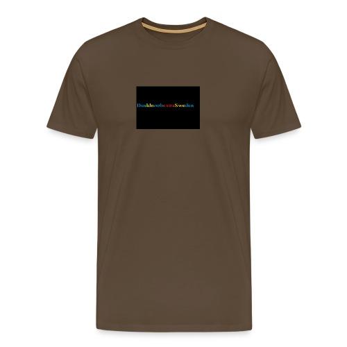 DualdnoobextraSwedens Mugg - Premium-T-shirt herr