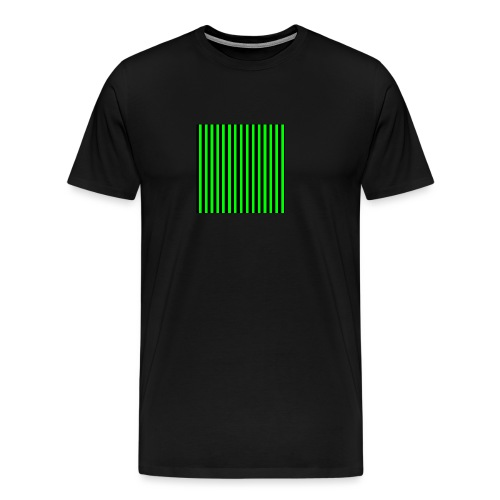 The henrymgreen Stripe Multi - Men's Premium T-Shirt