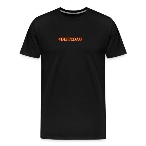 #deppedag - Premium T-skjorte for menn