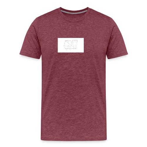 geox2004aw-png - Koszulka męska Premium