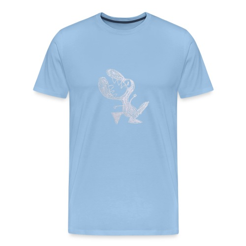 Livid little dragon - Mannen Premium T-shirt