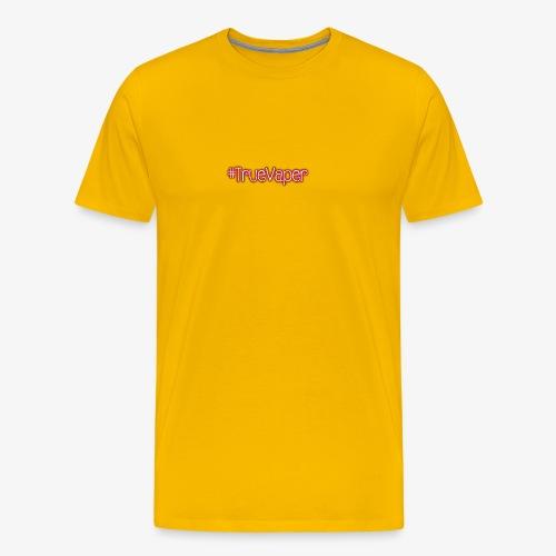 #TrueVaper - Miesten premium t-paita