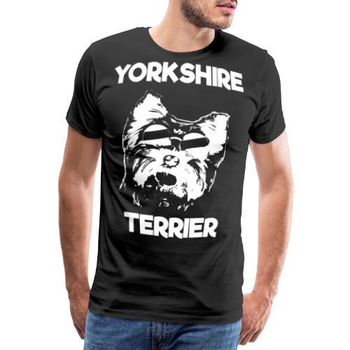Yorkshire Terrier Sonnenbrille - Männer Premium T-Shirt