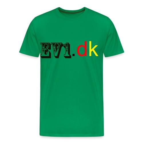 ev1 - Herre premium T-shirt