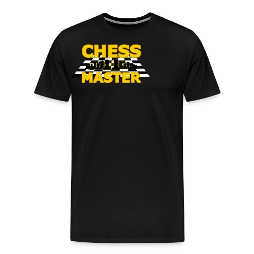 Chess Master - Black Version - By SBDesigns - Men's Premium T-Shirt
