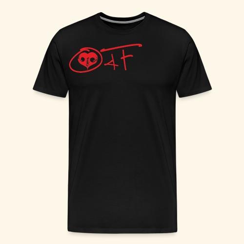 O4F ROSSO - Maglietta Premium da uomo