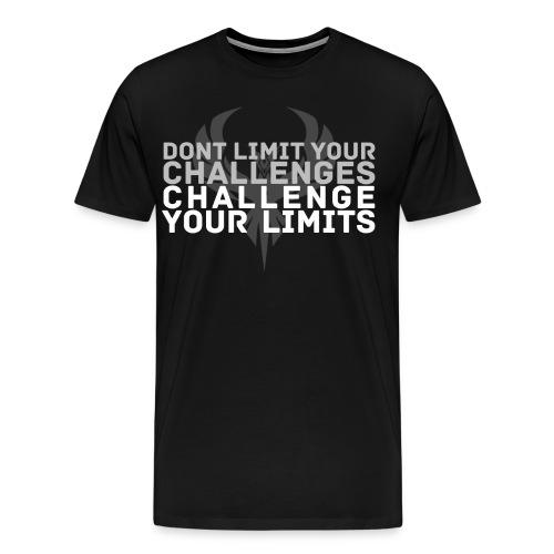 Challenge your limits! - Men's Premium T-Shirt