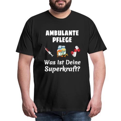 Ambulante Pflege T-Shirt Für Frauen Krankenpflege - Männer Premium T-Shirt
