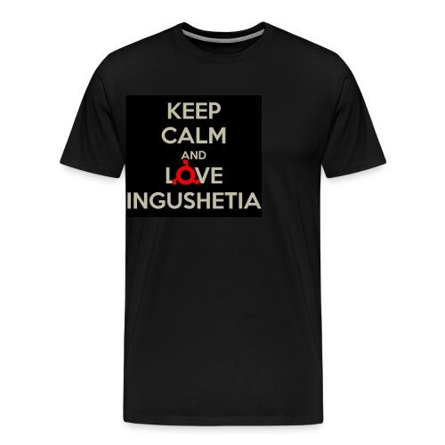 keep calm and love ingushetia - T-shirt Premium Homme