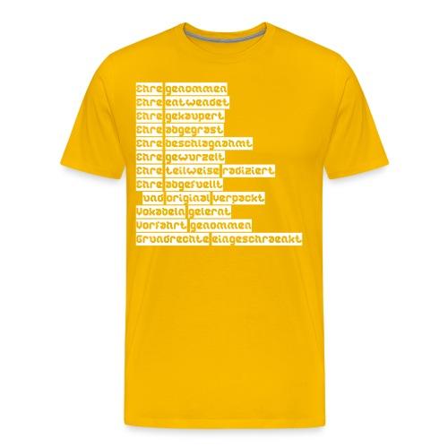 Ehre 4 0 - Men's Premium T-Shirt