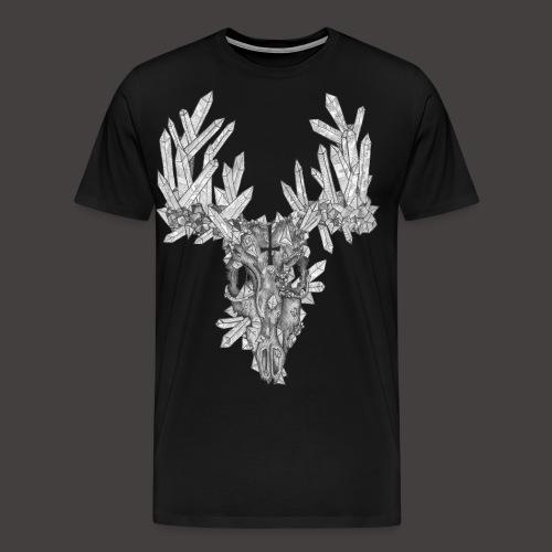 Le Cerf de Cristal - T-shirt Premium Homme