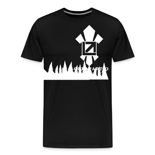 louvaatelogo - Miesten premium t-paita