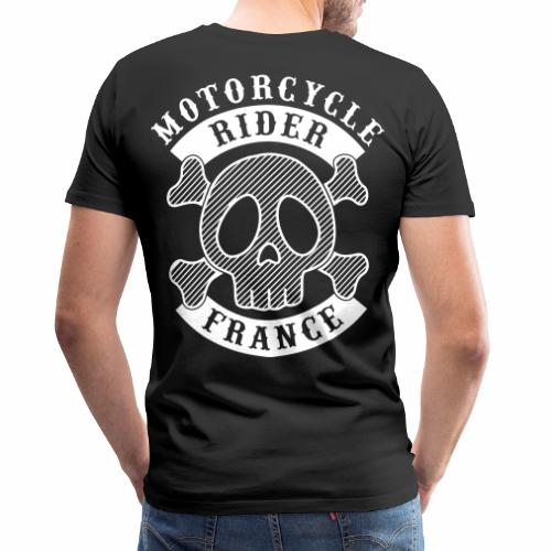 Motorcycle Rider France - T-shirt Premium Homme