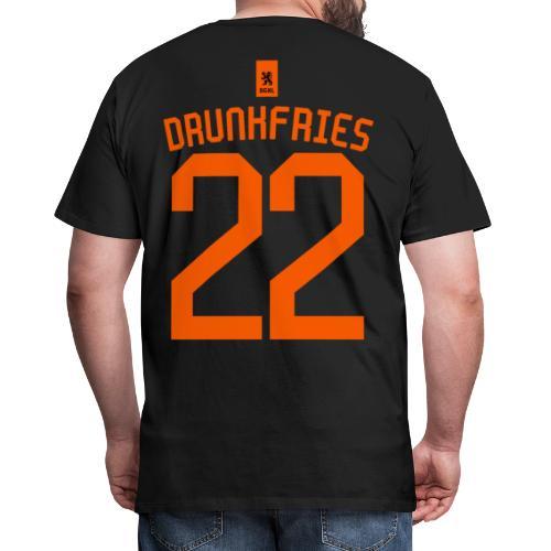 Drunkfries Zwart - EK 2021 - Mannen Premium T-shirt