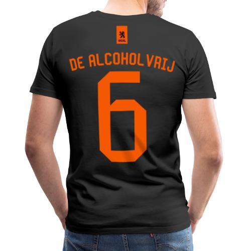 De Alcholvrij Zwart - EK 2021 - Mannen Premium T-shirt